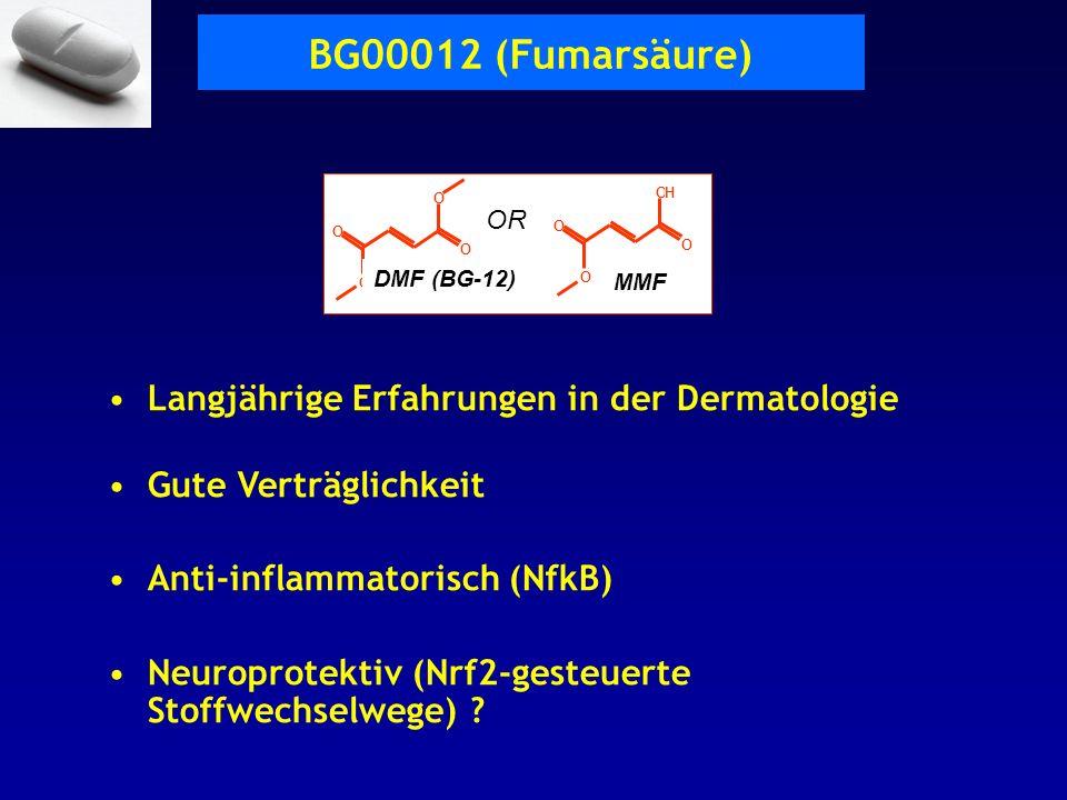 BG00012 (Fumarsäure) Langjährige Erfahrungen in der Dermatologie