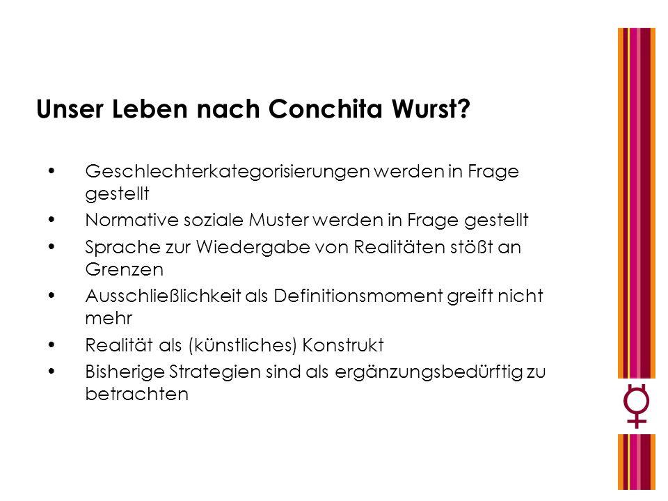 Unser Leben nach Conchita Wurst