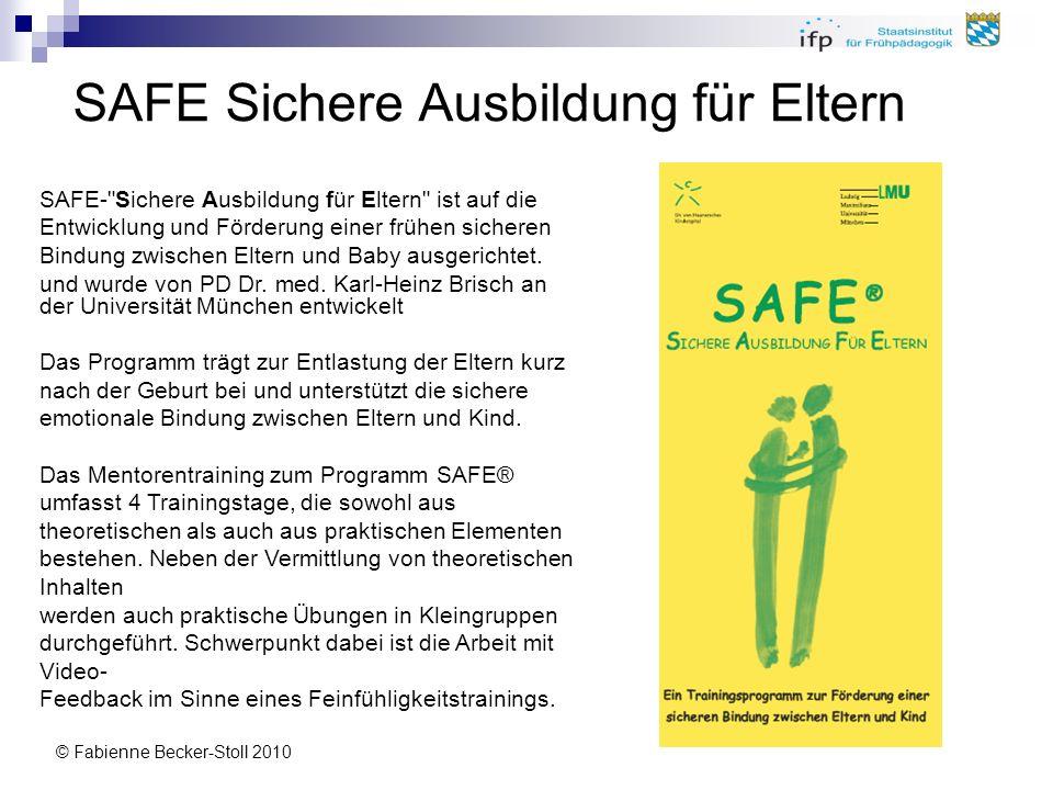 SAFE Sichere Ausbildung für Eltern