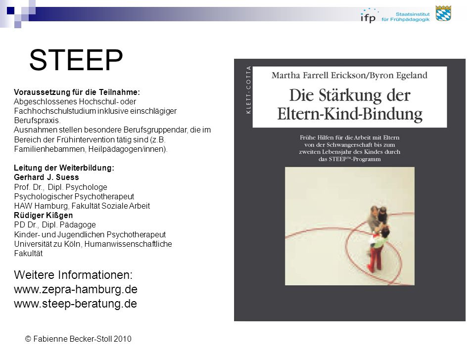 STEEP Weitere Informationen: www.zepra-hamburg.de