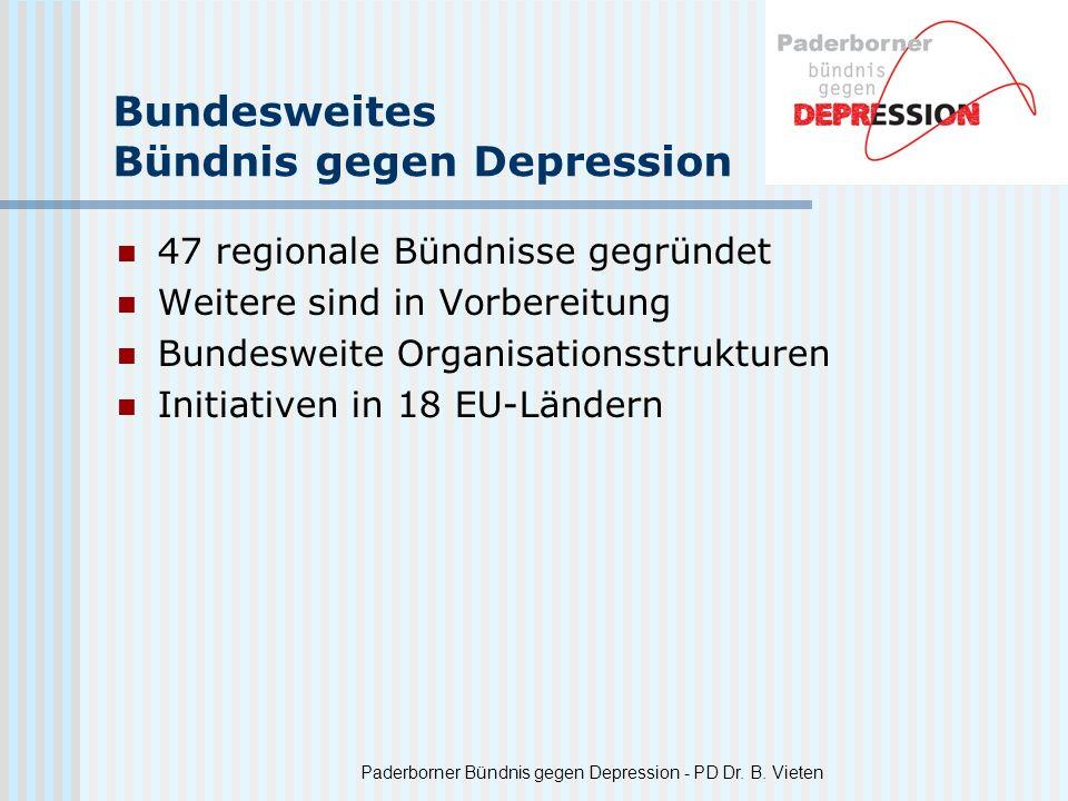 Bundesweites Bündnis gegen Depression
