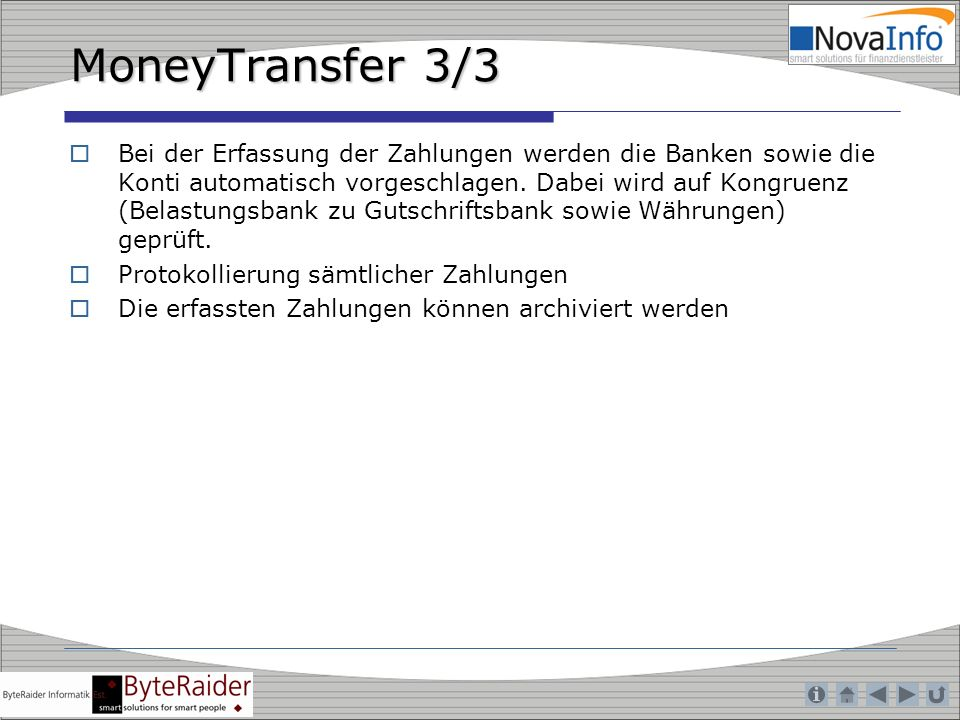 MoneyTransfer 3/3
