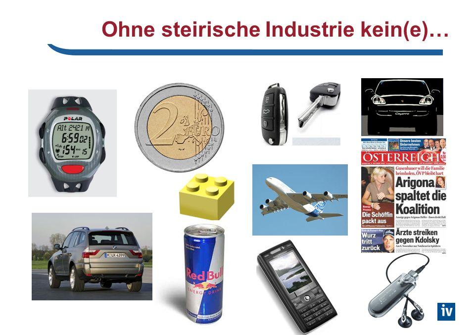 Online Informationen Die steirische Industrie im Überblick (Industrielandkarte): www.dieindustrie.at.