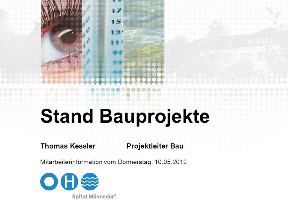 Stand Bauprojekte Thomas Kessler Projektleiter Bau