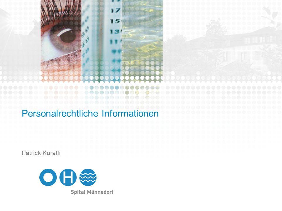 Personalrechtliche Informationen