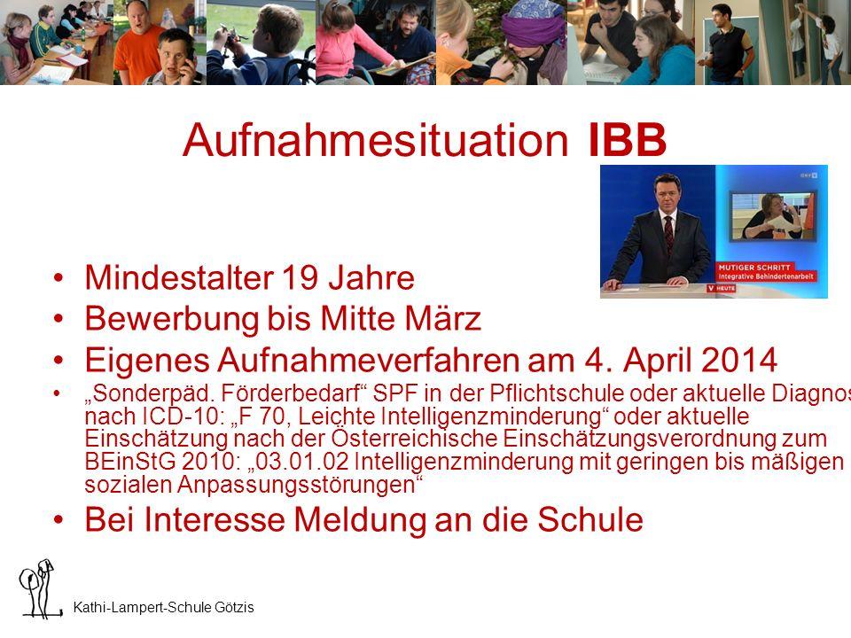 Aufnahmesituation IBB