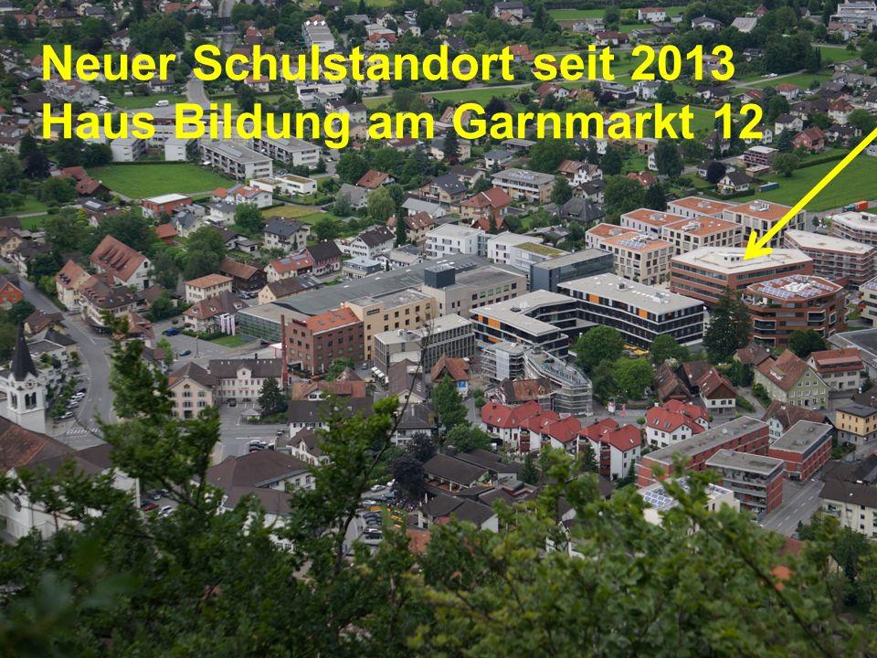 Neuer Schulstandort seit 2013 Haus Bildung am Garnmarkt 12