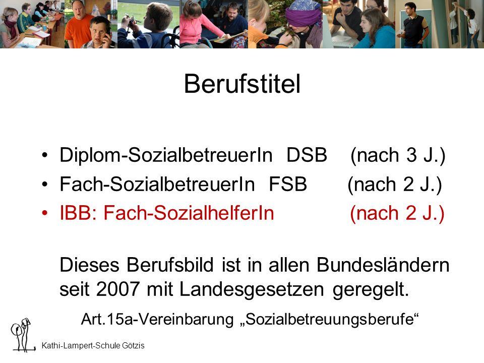 """Art.15a-Vereinbarung """"Sozialbetreuungsberufe"""