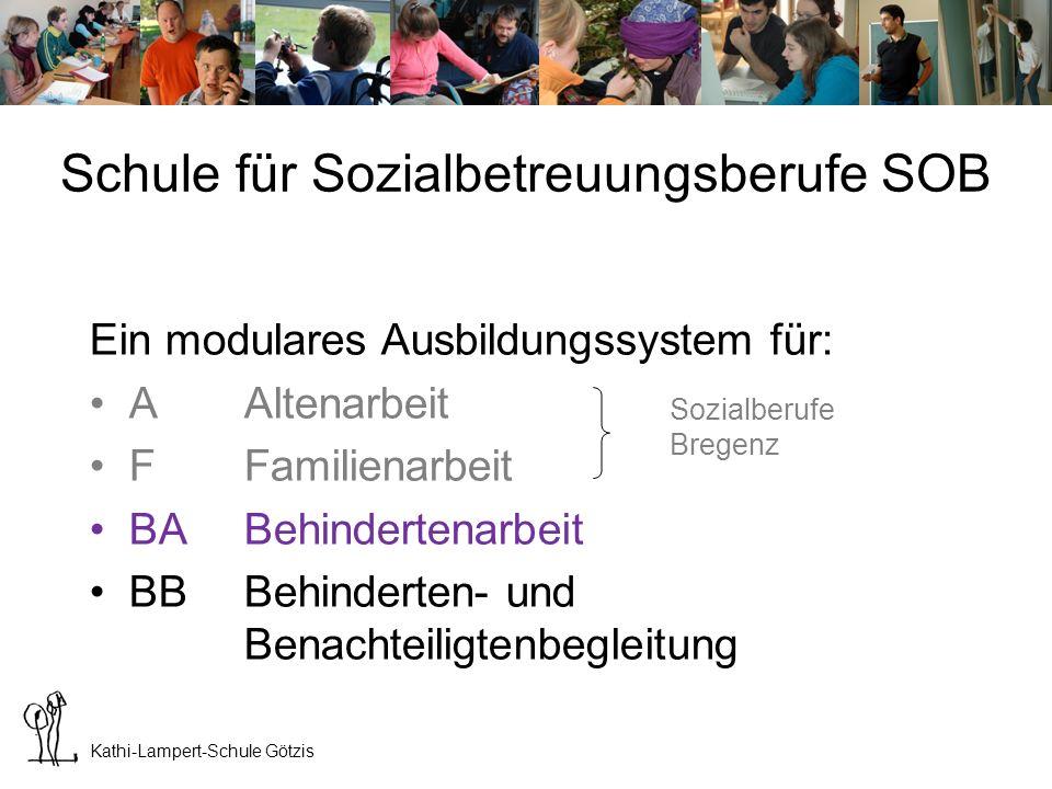 Schule für Sozialbetreuungsberufe SOB