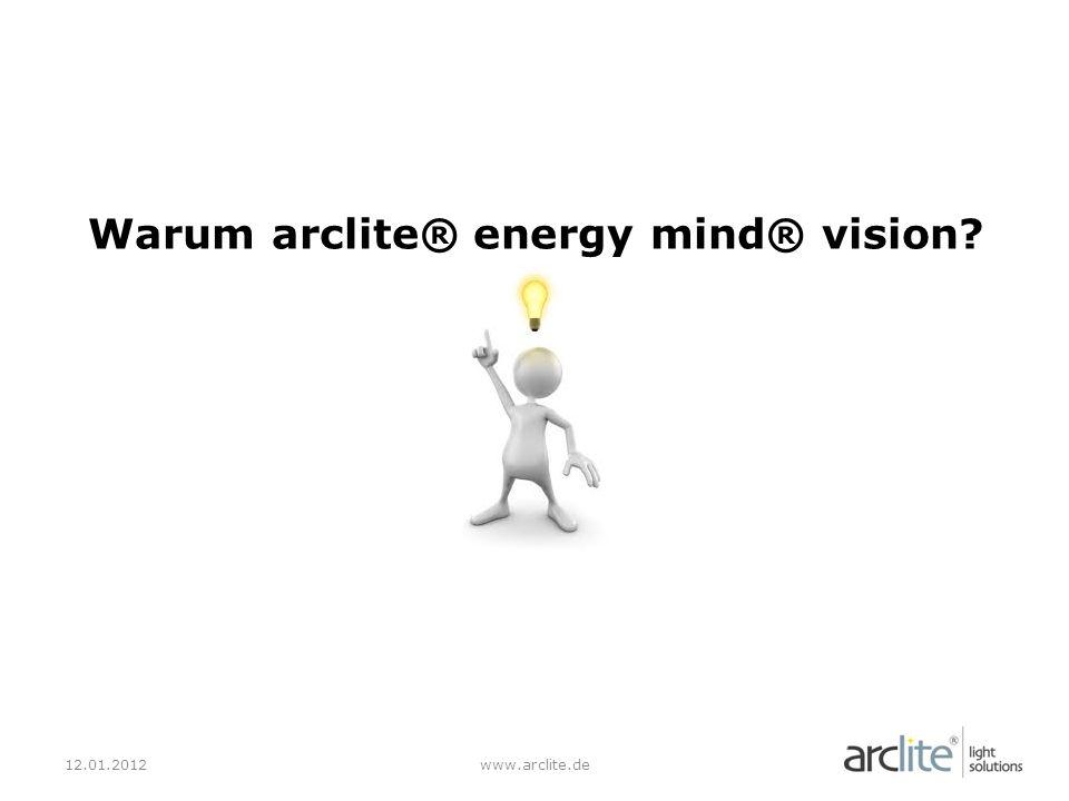Warum arclite® energy mind® vision