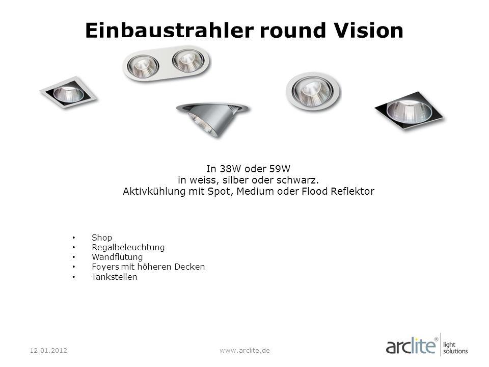 Einbaustrahler round Vision