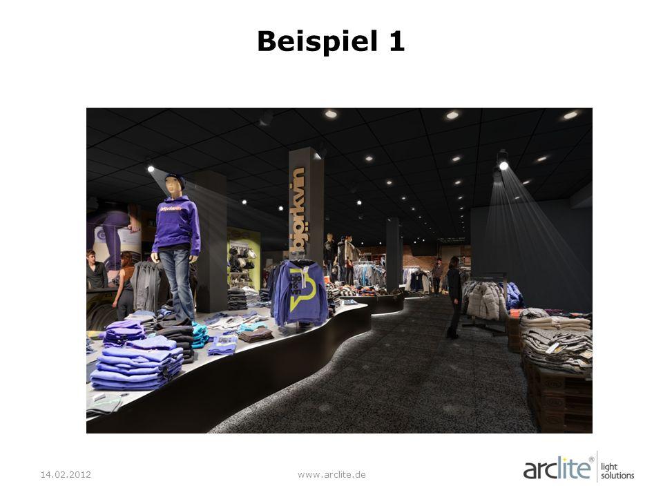 Beispiel 1 14.02.2012 www.arclite.de