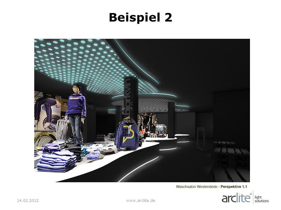 Beispiel 2 14.02.2012 www.arclite.de
