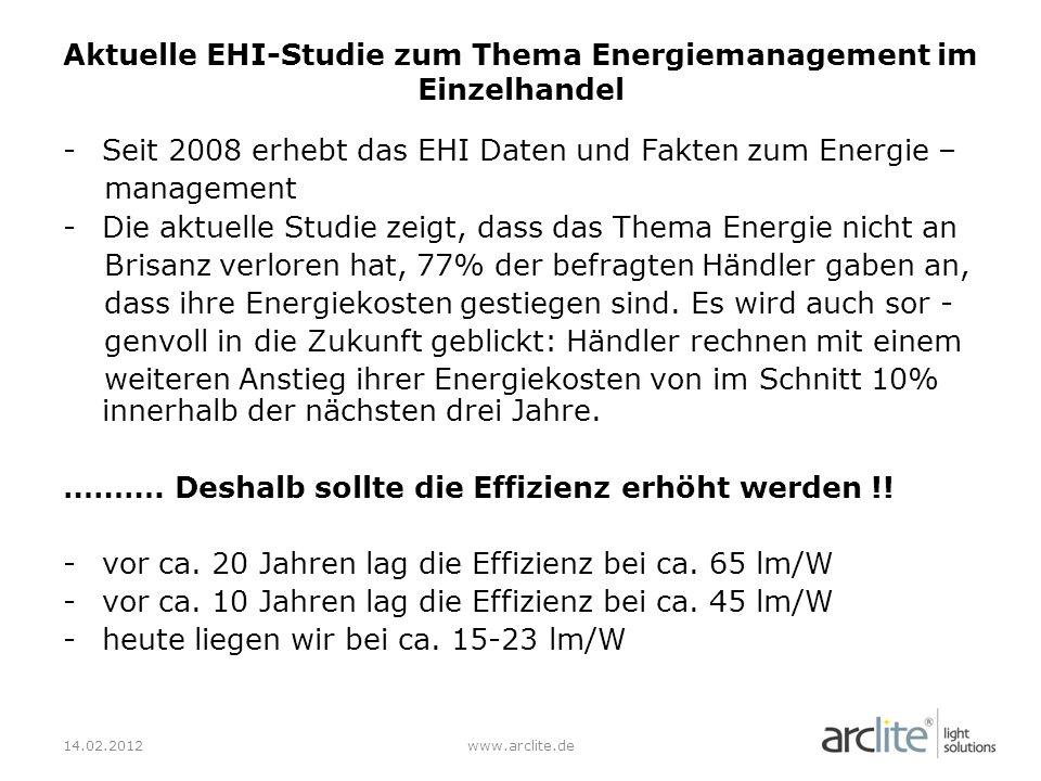 Aktuelle EHI-Studie zum Thema Energiemanagement im Einzelhandel