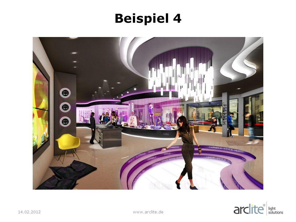 Beispiel 4 14.02.2012 www.arclite.de
