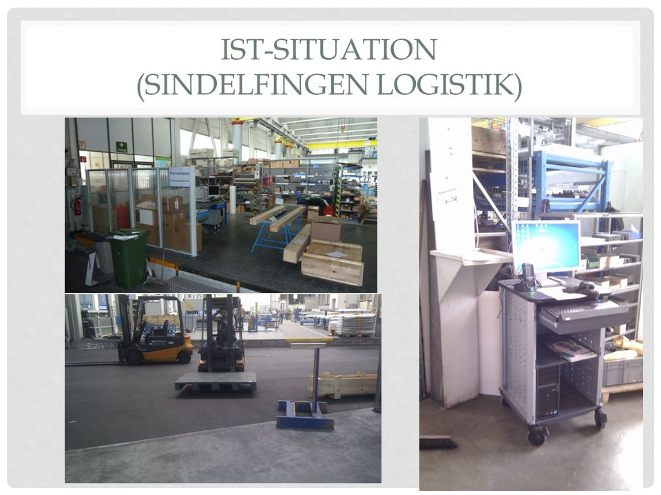 IST-SITUATION (Sindelfingen Logistik)