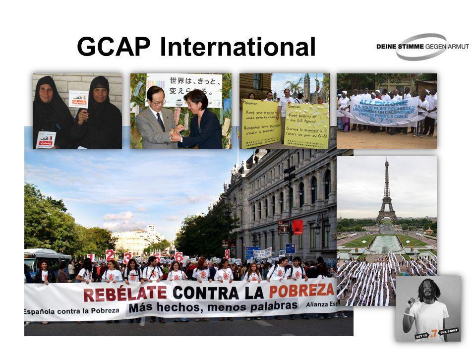 GCAP International Bilder im Uhrzeigersinn: