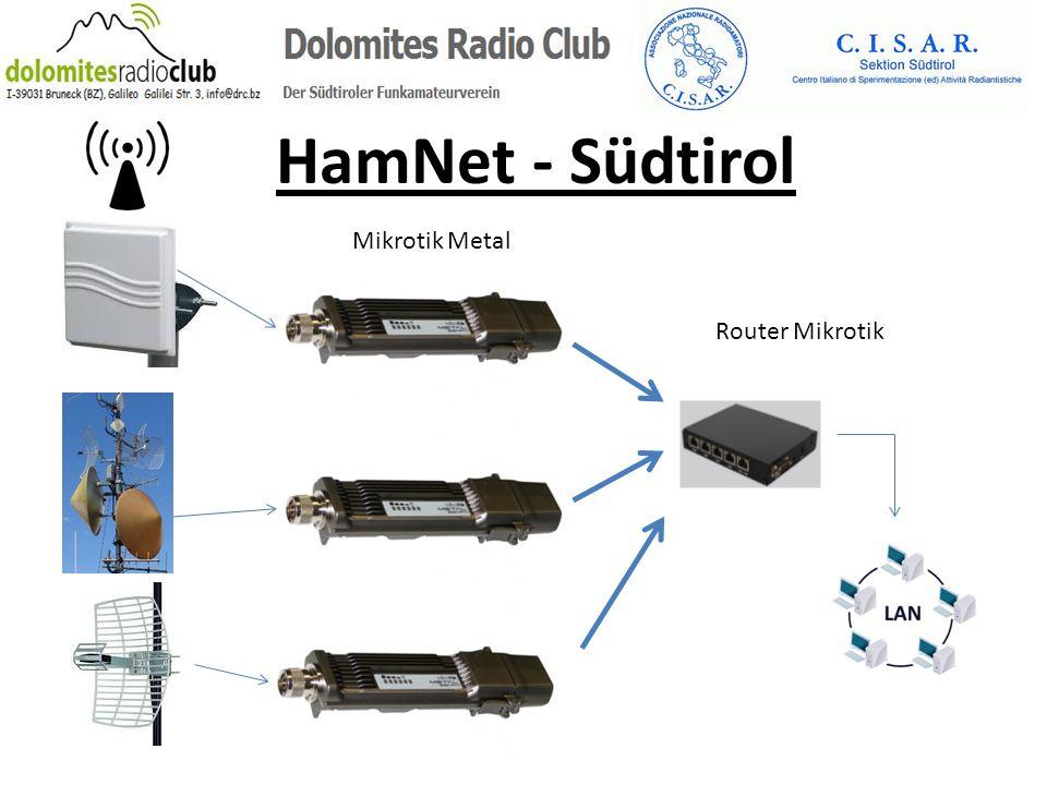 HamNet - Südtirol Mikrotik Metal Router Mikrotik