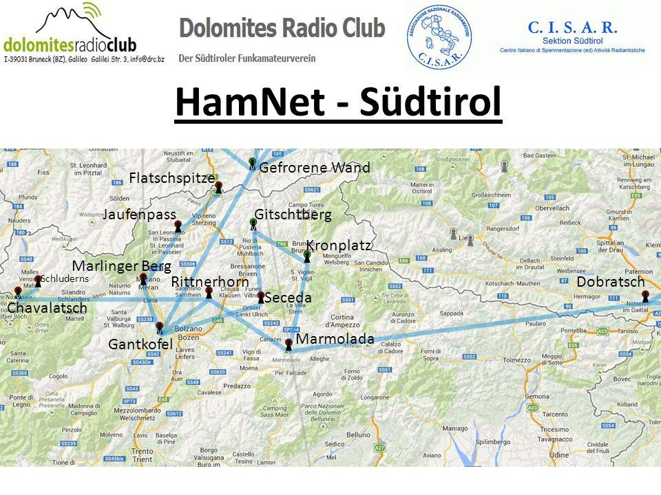 HamNet - Südtirol Gefrorene Wand Flatschspitze Jaufenpass Gitschtberg