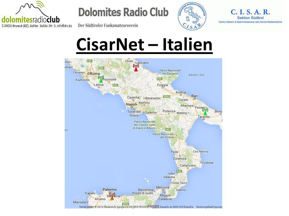 CisarNet – Italien