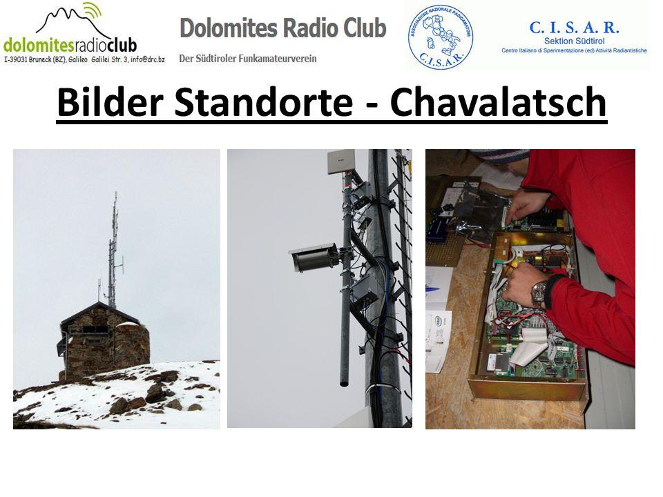 Bilder Standorte - Chavalatsch