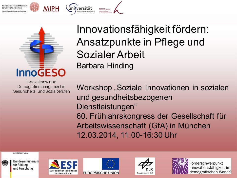 Innovationsfähigkeit fördern: