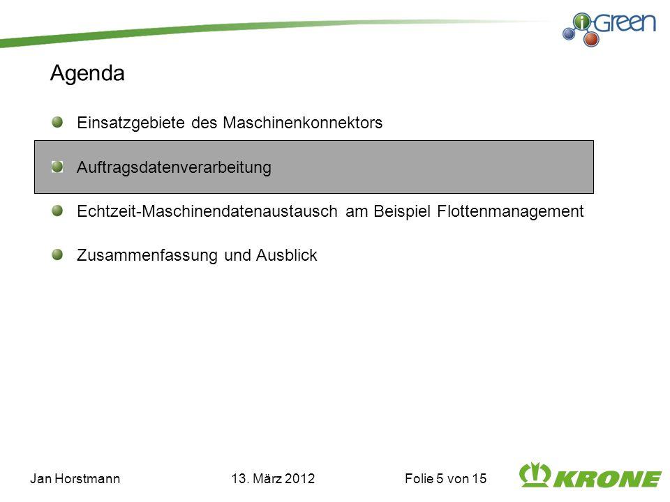 Jan Horstmann 13. März 2012 Folie 5 von 15