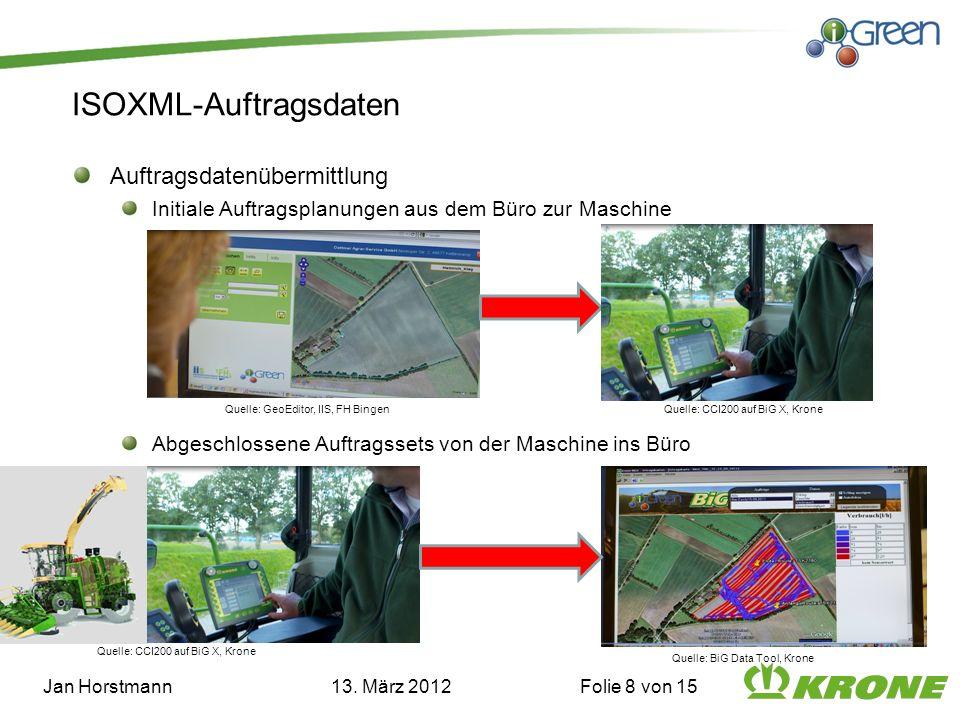 ISOXML-Auftragsdaten