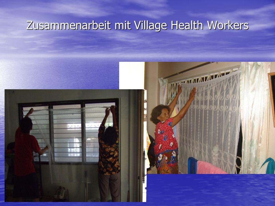 Zusammenarbeit mit Village Health Workers