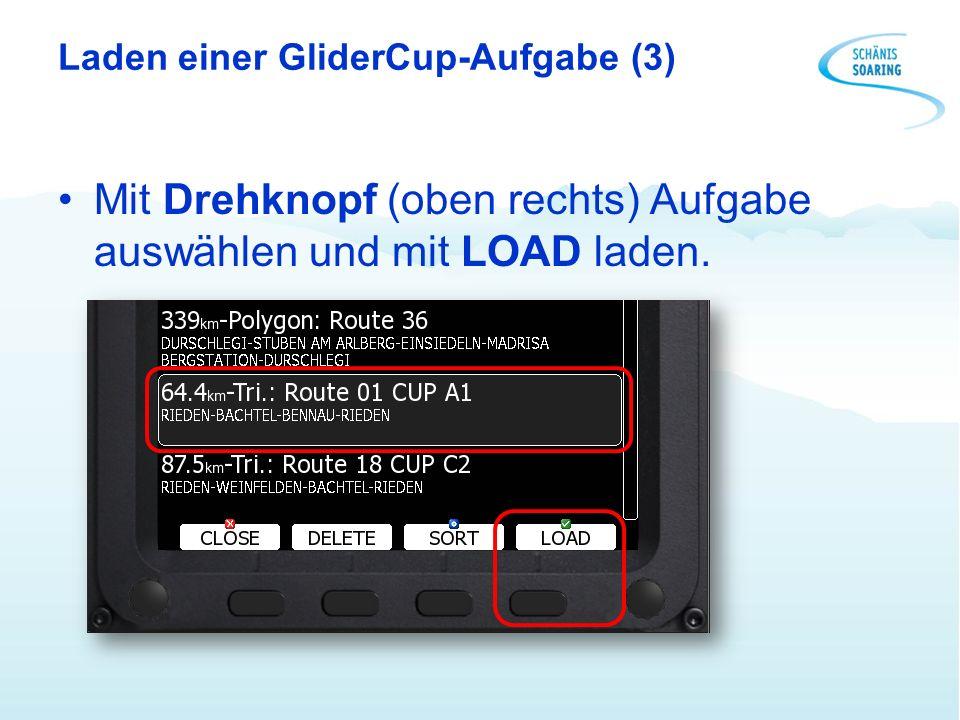 Laden einer GliderCup-Aufgabe (3)