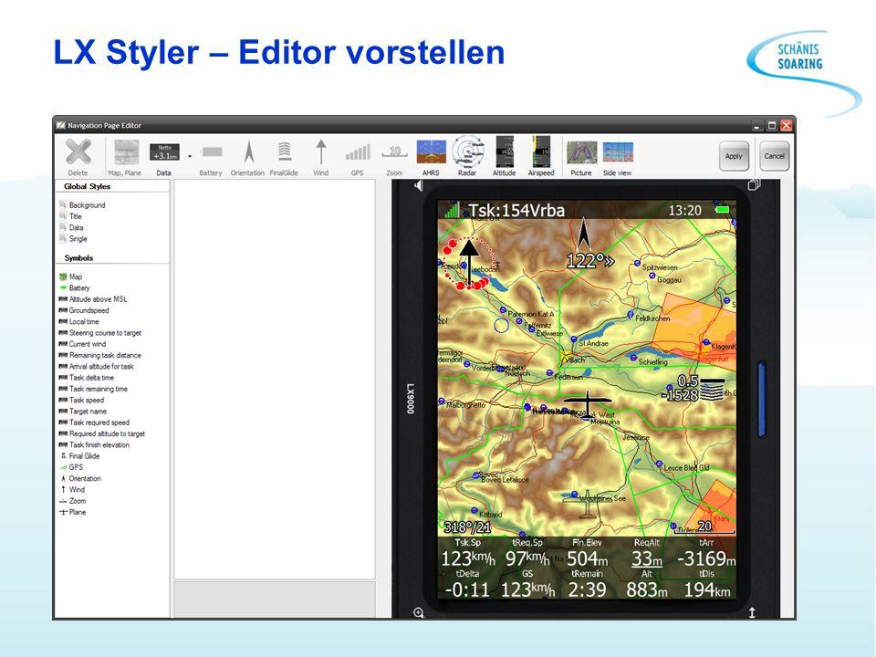 LX Styler – Editor vorstellen
