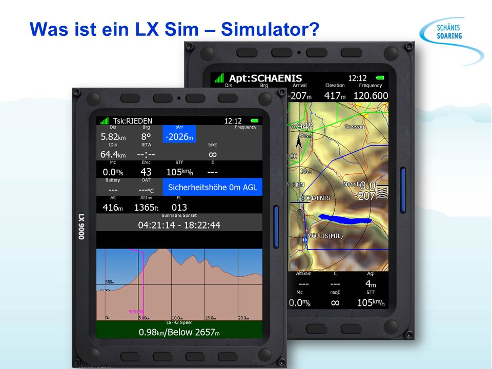 Was ist ein LX Sim – Simulator