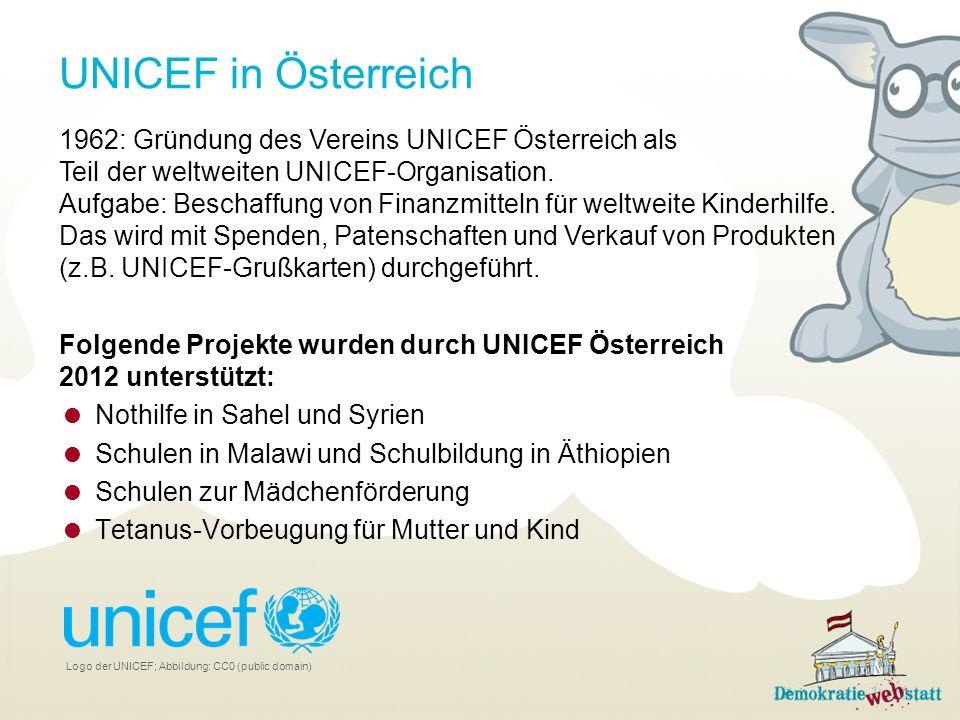 UNICEF in Österreich