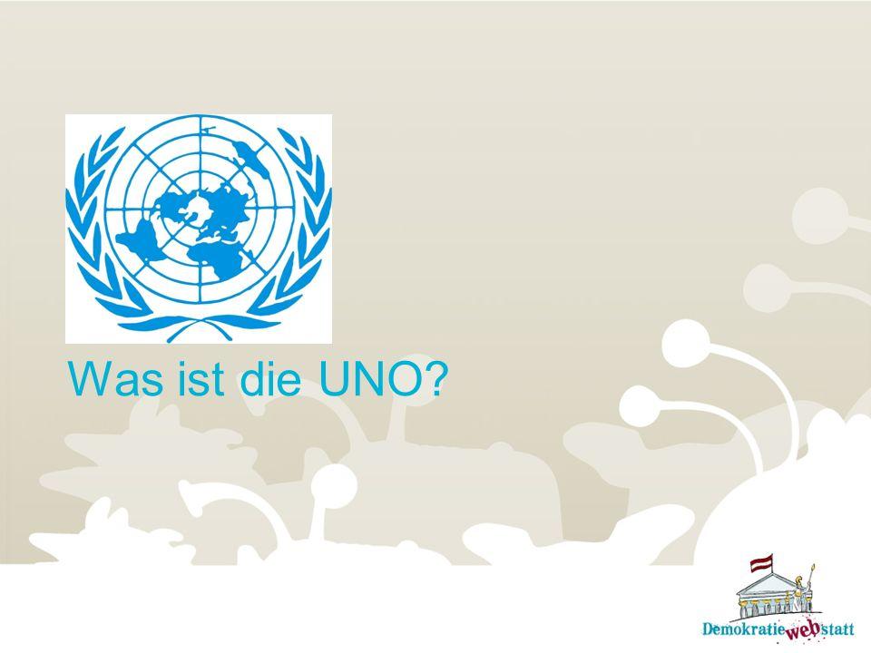 Was ist die UNO