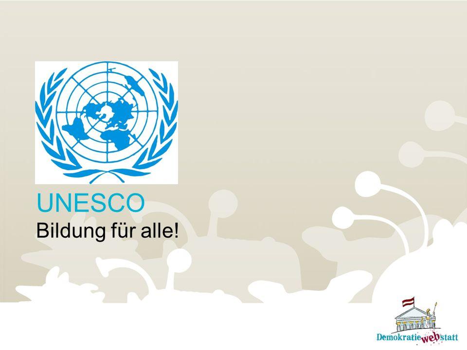 UNESCO Bildung für alle!