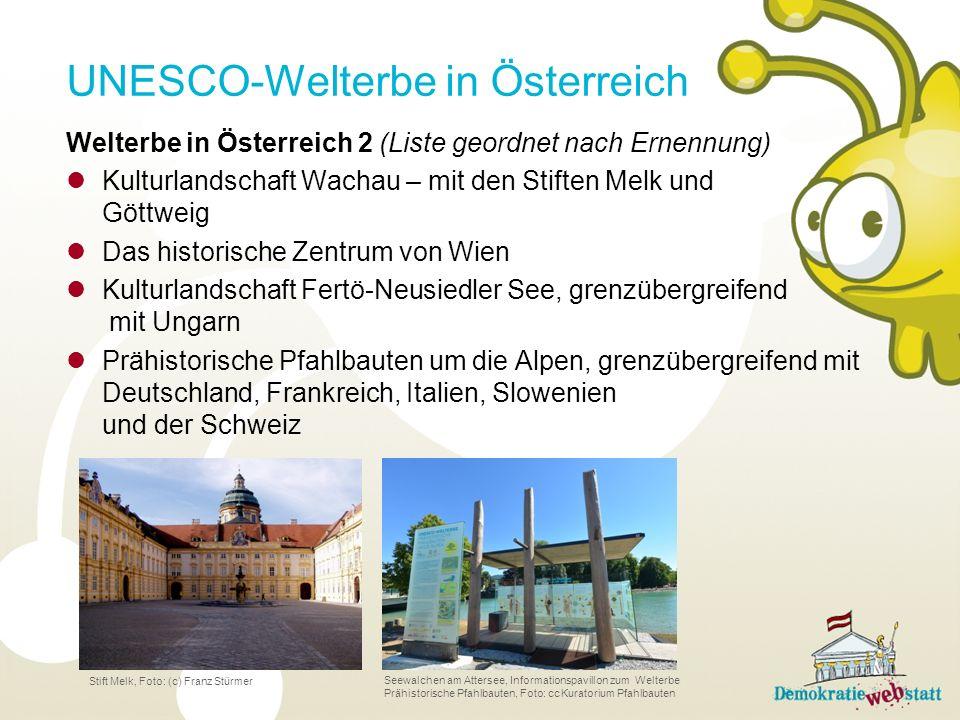 UNESCO-Welterbe in Österreich
