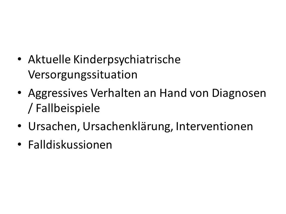 Aktuelle Kinderpsychiatrische Versorgungssituation