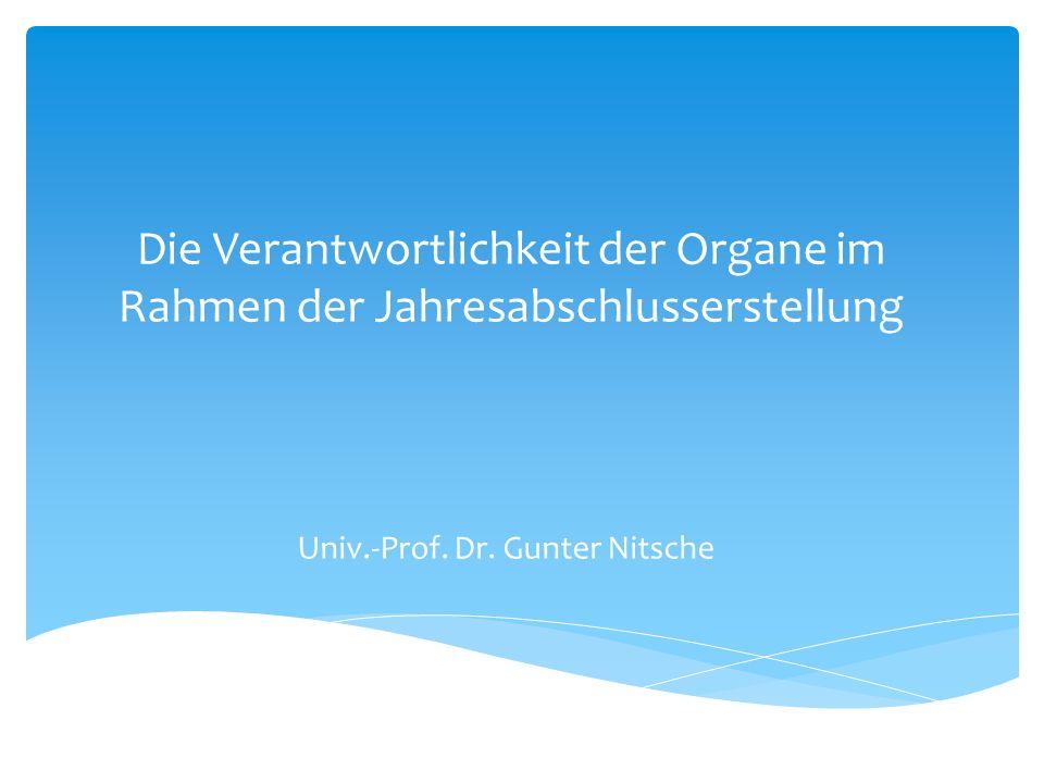 Univ.-Prof. Dr. Gunter Nitsche