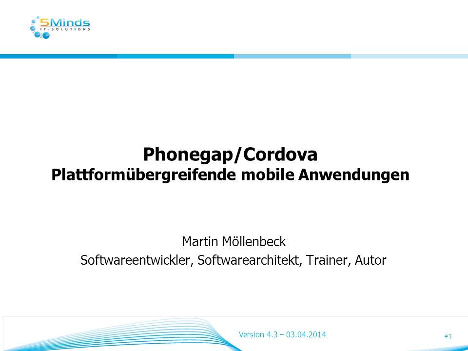 Phonegap/Cordova Plattformübergreifende mobile Anwendungen