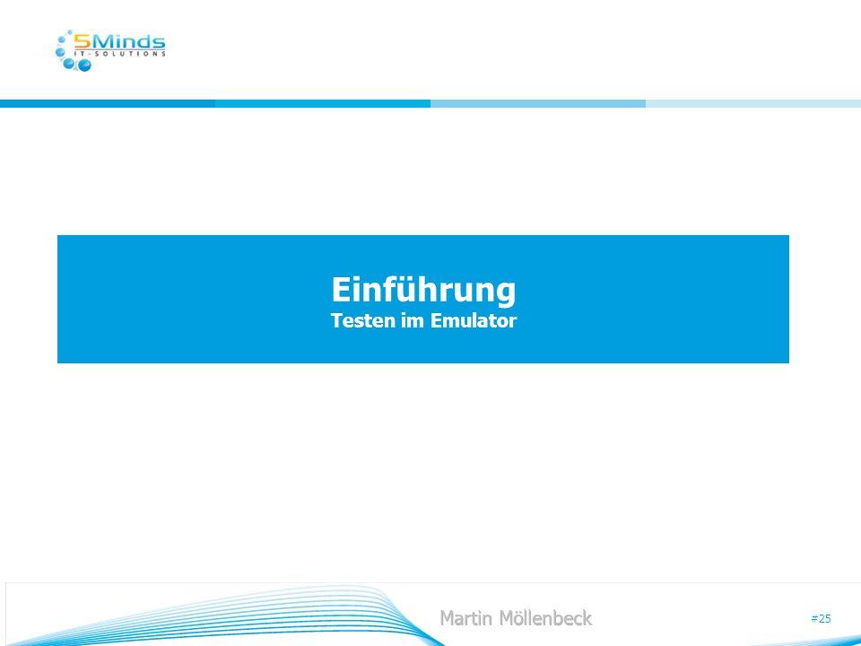 Einführung Testen im Emulator