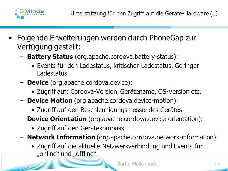 Unterstützung für den Zugriff auf die Geräte-Hardware (1)