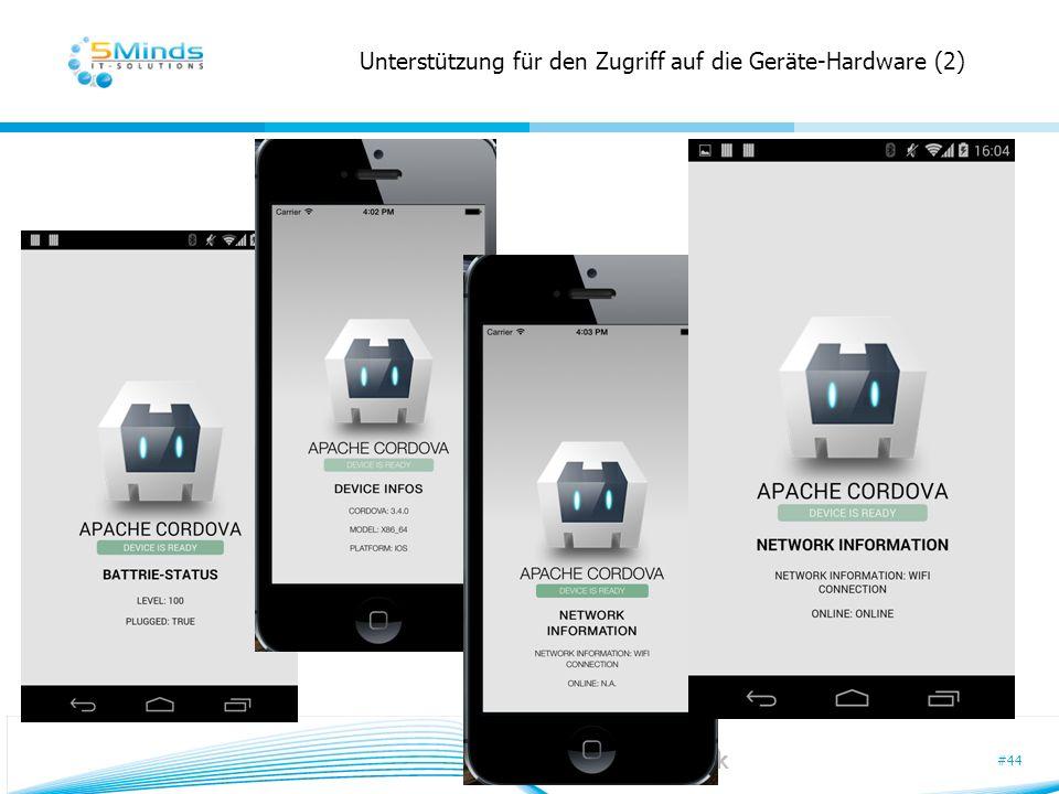 Unterstützung für den Zugriff auf die Geräte-Hardware (2)