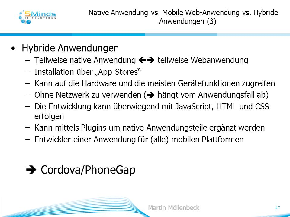 Native Anwendung vs. Mobile Web-Anwendung vs. Hybride Anwendungen (3)