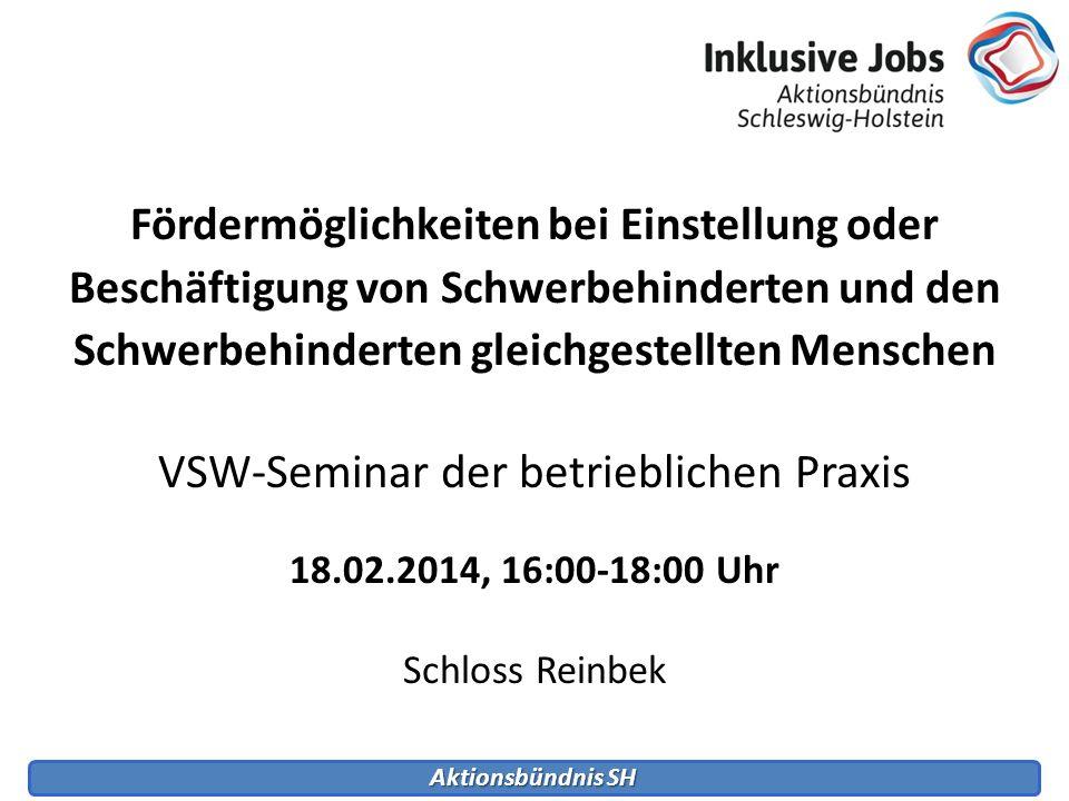 VSW-Seminar der betrieblichen Praxis