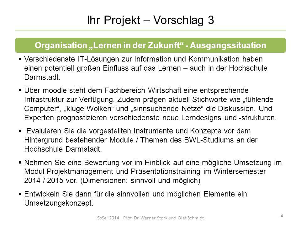 Ihr Projekt – Vorschlag 3