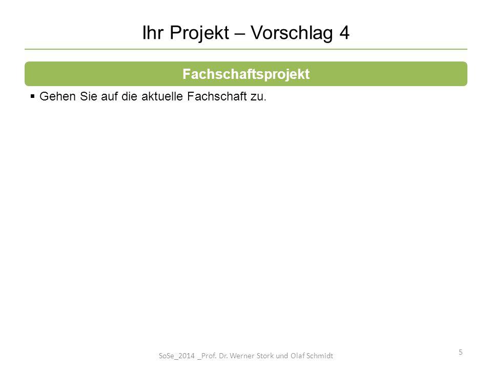 Ihr Projekt – Vorschlag 4