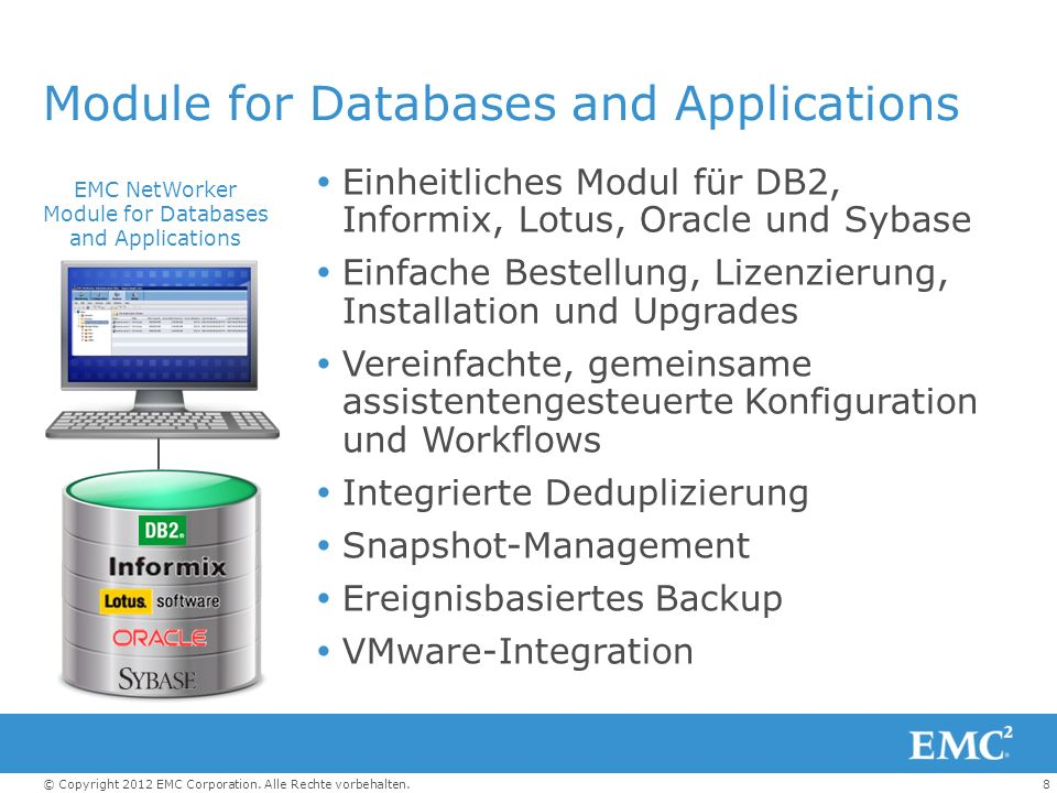 Module for Databases and Applications
