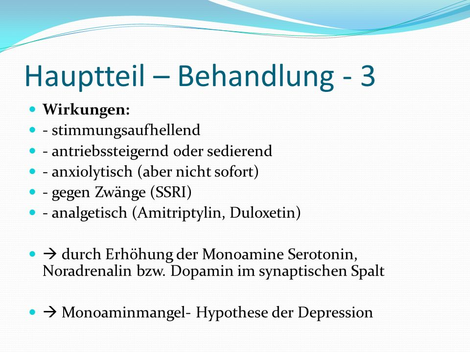 Hauptteil – Behandlung - 3