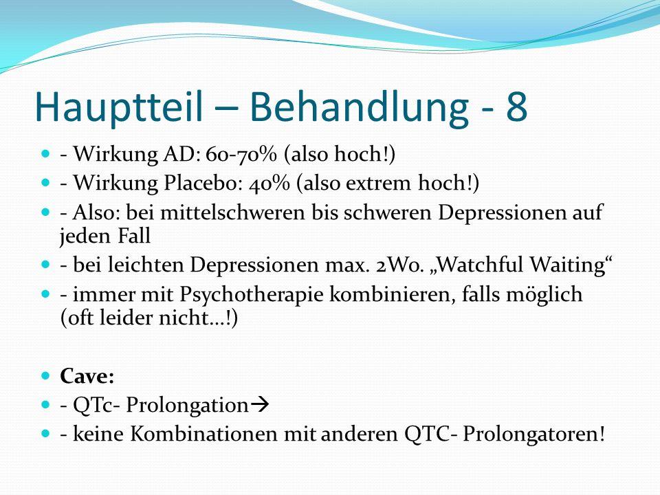 Hauptteil – Behandlung - 8