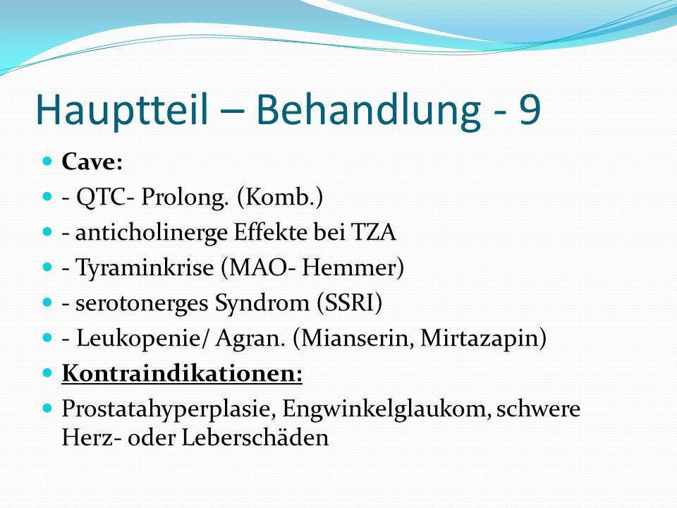 Hauptteil – Behandlung - 9